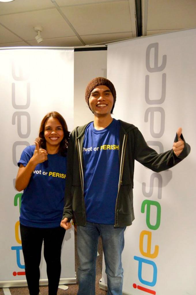 Aisa and Raphael Mijeno at Ideaspace Manila